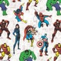 Premium Roller in Disney Marvel Patterned Fabric - Just Blinds